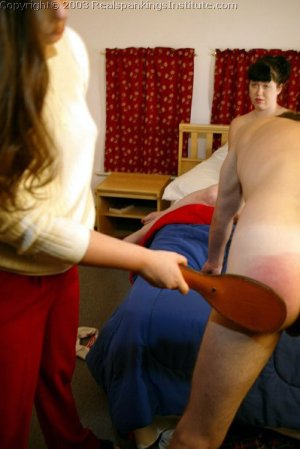 Real Spankings Institute - Betty And John Get Paddled - image 10