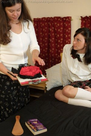 Real Spankings Institute - Donna's Room Inspection - image 13