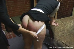 Real Spankings Institute - Brooke Is Spanked For Arguing - image 8