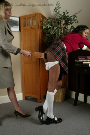 Real Spankings Institute - Janelle Learns A Lesson - image 6