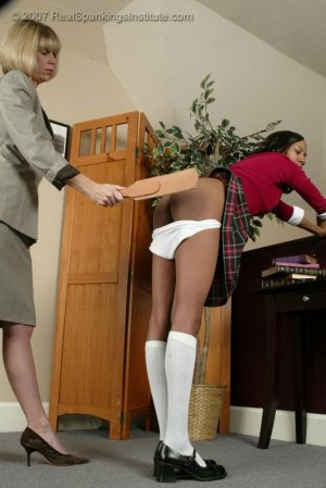 Real Spankings Institute - Janelle Learns A Lesson - image 1
