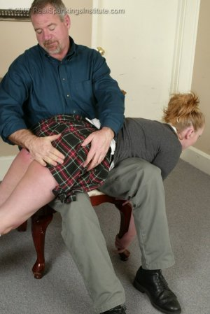 Real Spankings Institute - Brooke's Poor Progress Earns Her A Spanking - Part 1 - image 2