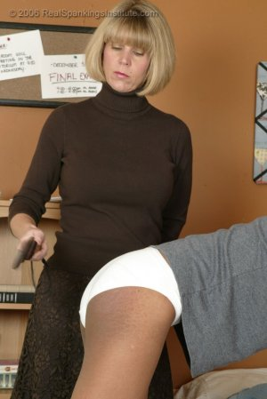 Real Spankings Institute - Janelle Is Caught Reading After Hours - image 2