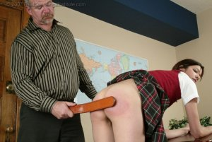 Real Spankings Institute - Breaking Position Earns Brandi The Strap - image 4