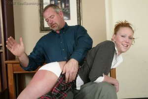Real Spankings Institute - Brooke's Poor Progress Earns Her A Spanking - Part 1 - image 9
