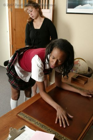 Real Spankings Institute - Janelle's Pink Slip Punishment - image 6