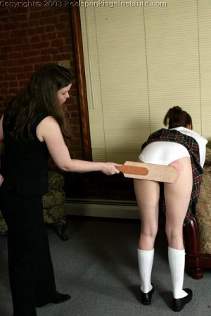 Real Spankings Institute - Donna Not Ready For Class - image 5