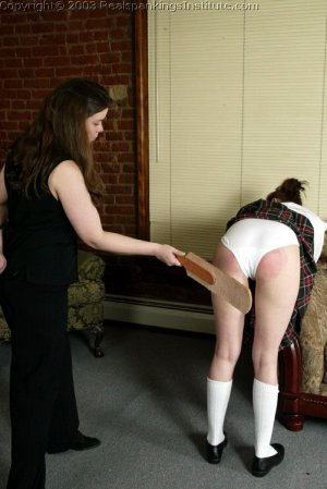 Real Spankings Institute - Donna Not Ready For Class - image 10