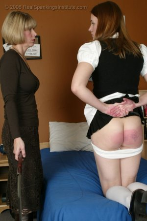 Real Spankings Institute - Monica Is Spanked On All Fours - image 5