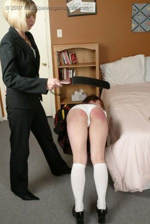 Real Spankings Institute - Claire Spanked For Coercion - image 3