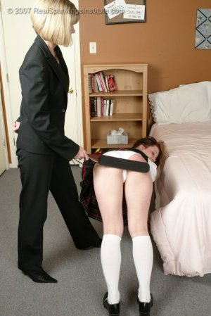 Real Spankings Institute - Claire Spanked For Coercion - image 9