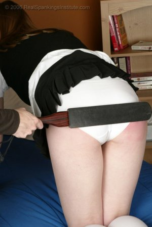 Real Spankings Institute - Monica Is Spanked On All Fours - image 8