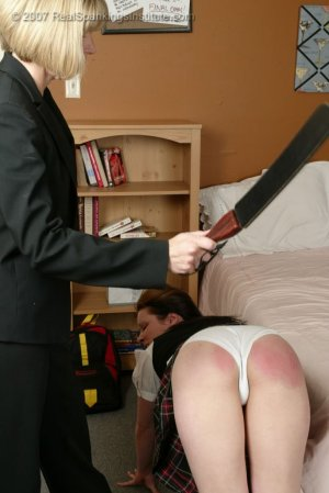 Real Spankings Institute - Claire Spanked For Coercion - image 6