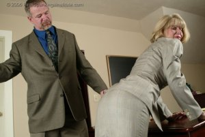 Real Spankings Institute - Ms. Burns' Classroom Paddling - image 4