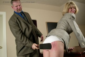 Real Spankings Institute - Ms. Burns' Classroom Paddling - image 9