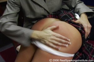 Real Spankings Institute - Jackie Spanked For Disrupting - image 4