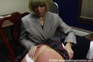 Real Spankings Institute - Jackie Spanked For Disrupting - image 2