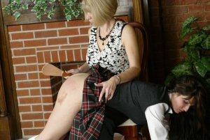Real Spankings Institute - Natalie Spanked For Not Wearing Panties - image 4