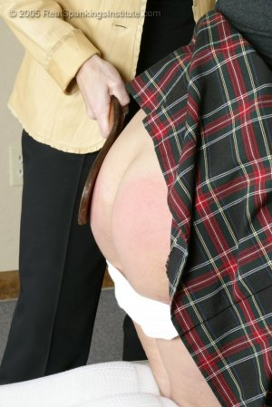 Real Spankings Institute - Natalie Spanked For Late Work - image 5
