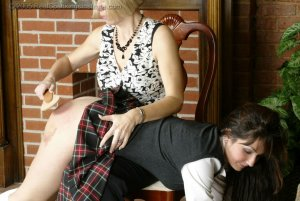 Real Spankings Institute - Natalie Spanked For Not Wearing Panties - image 7
