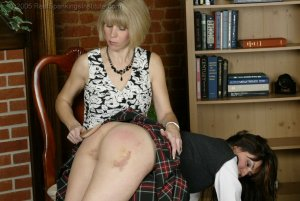 Real Spankings Institute - Natalie Spanked For Not Wearing Panties - image 9