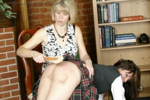 Real Spankings Institute - Natalie Spanked For Not Wearing Panties - image 17