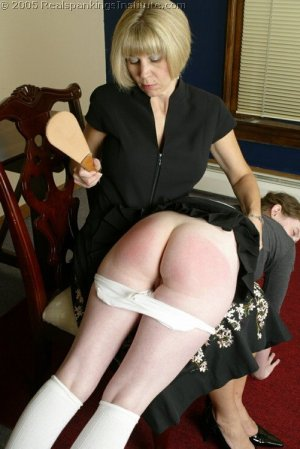 Real Spankings Institute - Bailey Is Spanked For Infractions - image 1