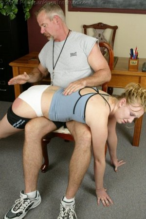 Real Spankings Institute - Brooke's Institute Hand Spanking - image 17