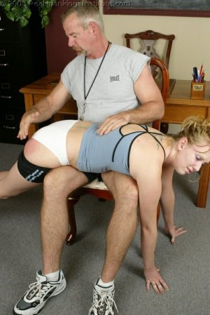 Real Spankings Institute - Brooke's Institute Hand Spanking - image 1
