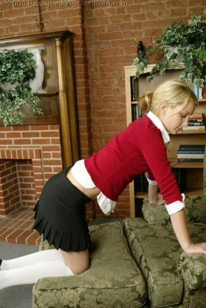 Real Spankings Institute - Sarah Is Spanked For Her Tardiness - image 10