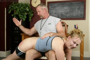 Real Spankings Institute - Brooke's Institute Hand Spanking - image 16