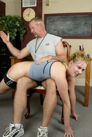 Real Spankings Institute - Brooke's Institute Hand Spanking - image 12
