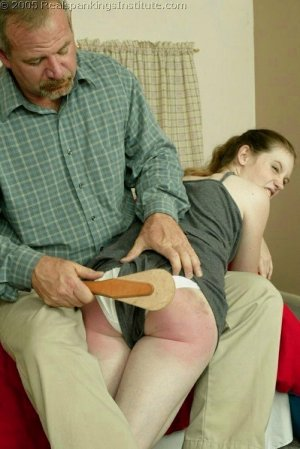 Real Spankings Institute - Bailey's Is Spanked For Missing Class - image 15