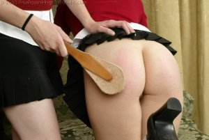 Real Spankings Institute - Sarah Is Spanked For Her Tardiness - image 17