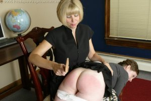 Real Spankings Institute - Bailey Is Spanked For Infractions - image 16