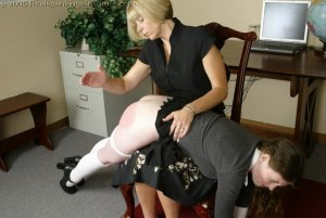 Real Spankings Institute - Bailey Is Spanked For Infractions - image 18