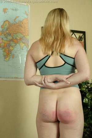 Real Spankings Institute - Taylor Is Spanked By Coach - image 6