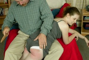 Real Spankings Institute - Bailey's Is Spanked For Missing Class - image 6