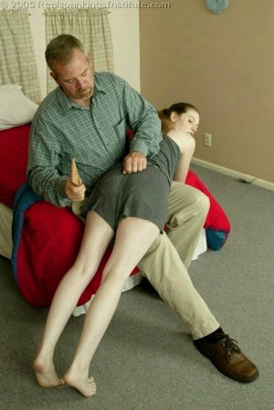 Real Spankings Institute - Bailey's Is Spanked For Missing Class - image 10