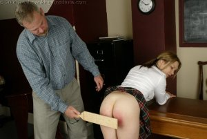 Real Spankings Institute - Claire's School Paddling - image 3