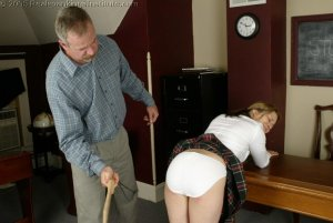 Real Spankings Institute - Claire's School Paddling - image 10