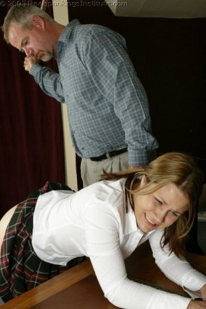 Real Spankings Institute - Claire's School Paddling - image 9