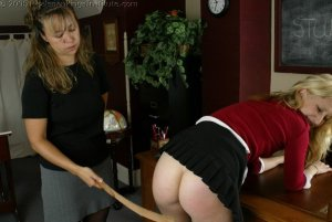 Real Spankings Institute - Sarah's Classroom Strapping - image 9