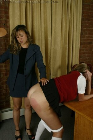 Real Spankings Institute - Charli's Office Spanking - image 17