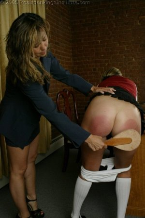 Real Spankings Institute - Charli's Office Spanking - image 6