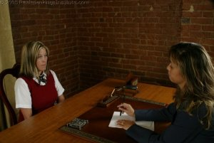 Real Spankings Institute - Charli's Office Spanking - image 4