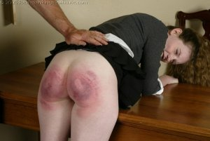 Real Spankings Institute - Bailey's Classroom Paddling - image 8