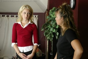 Real Spankings Institute - Sarah's Classroom Strapping - image 18
