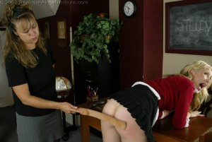 Real Spankings Institute - Sarah's Classroom Strapping - image 13