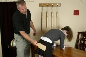 Real Spankings Institute - Bailey's Classroom Paddling - image 16